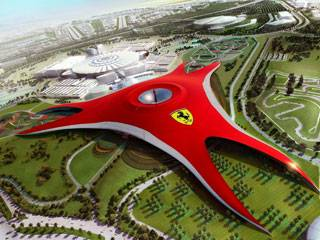 Hotels at Ferrari World